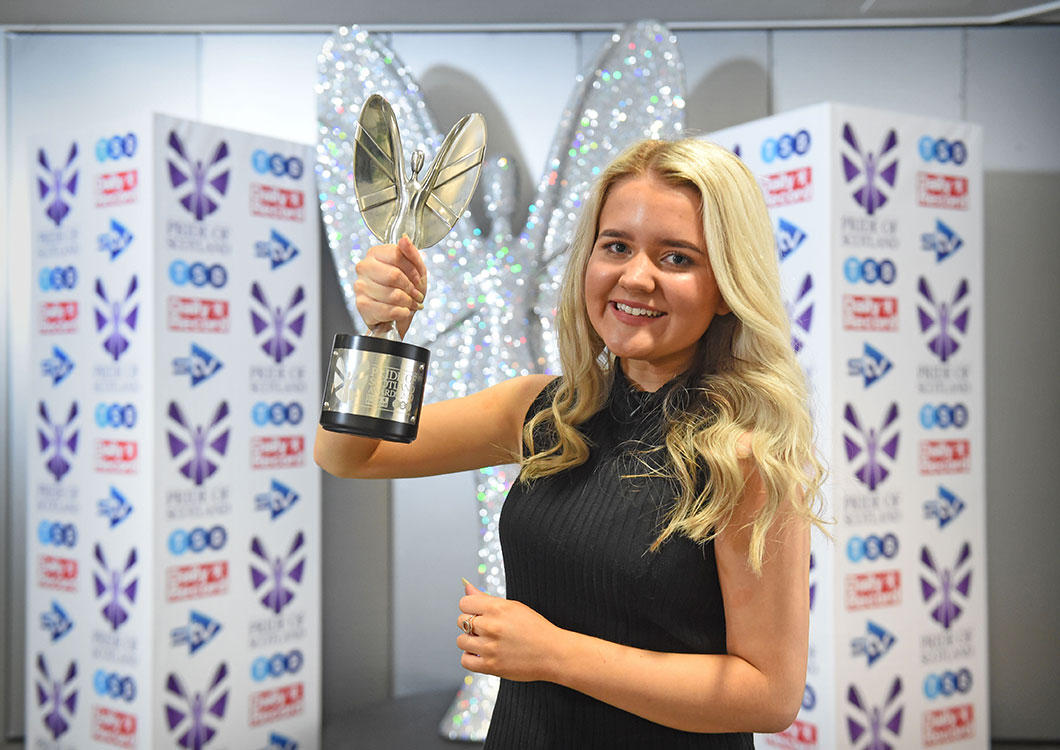 Young Fundraiser of the Year - Jenny Cook