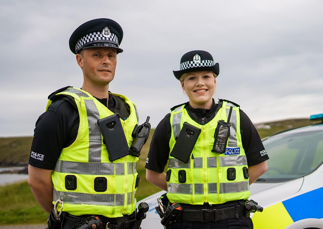 Emergency Services Award - PC Lisa Macpherson and PC David Fraser