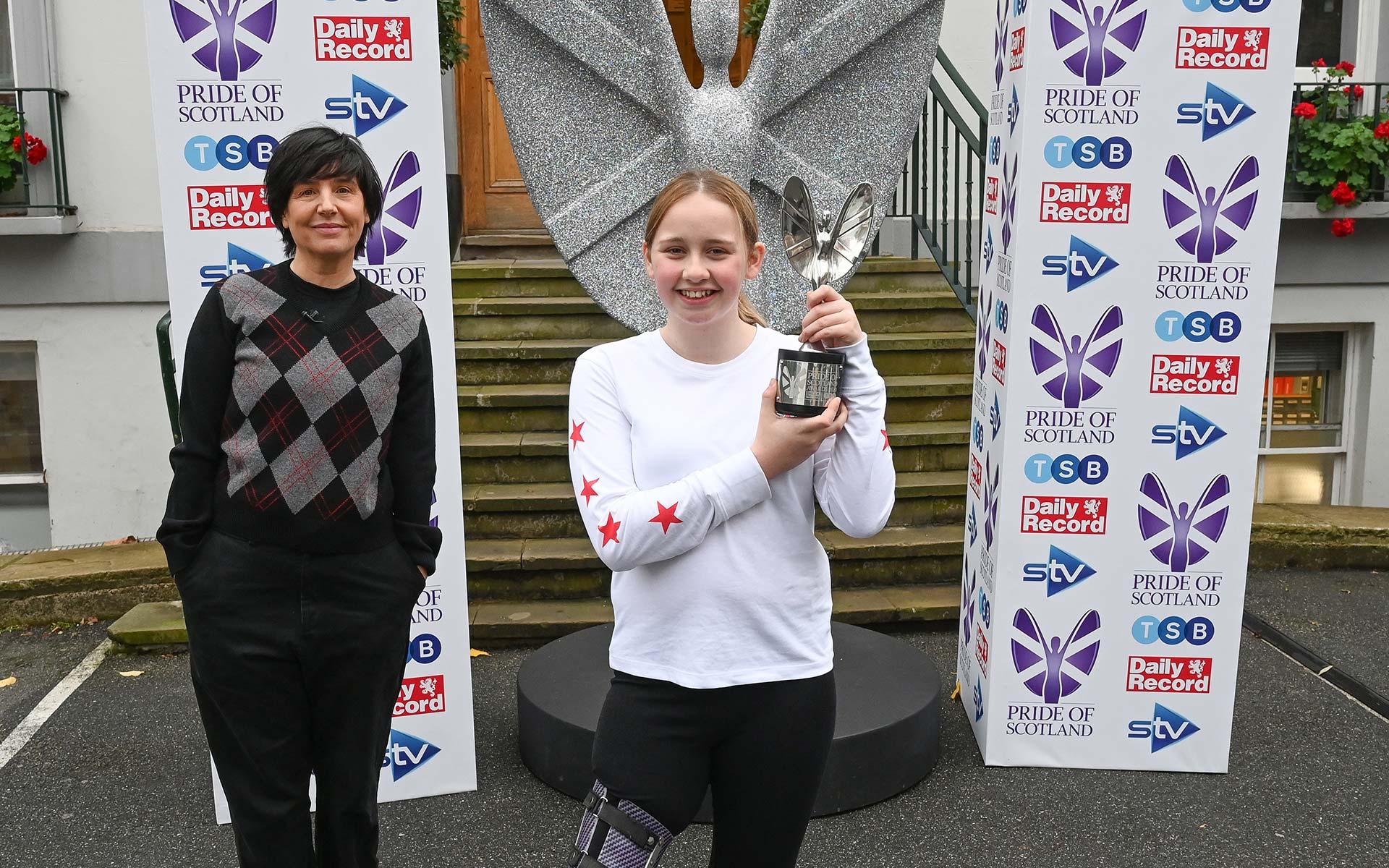 STV Children's Appeal Child of Courage - Katie Pake